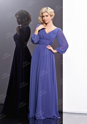 3ef0eca9aca99f1 Вечерние платья в пол с длинным рукавом — Купить платье в интернет ...
