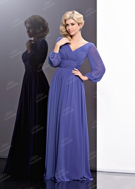 db93194ef8e Платья в пол с длинным рукавом — Интернет магазин Мир платьев