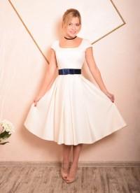 Купить платье с пышной юбкой до колена москва