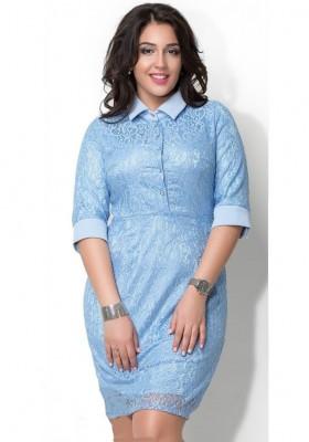 8664ff3cb80 Платье футляр с кружевом — Купить платье в интернет-магазине с ...