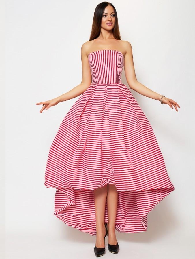 127f373310a Купить длинное платье с пышной юбкой без рукавов lucy sonyal 134 ...