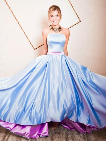 b2838649fadb Купить голубое платье в Москве. Интернет-магазин ателье платьев ...