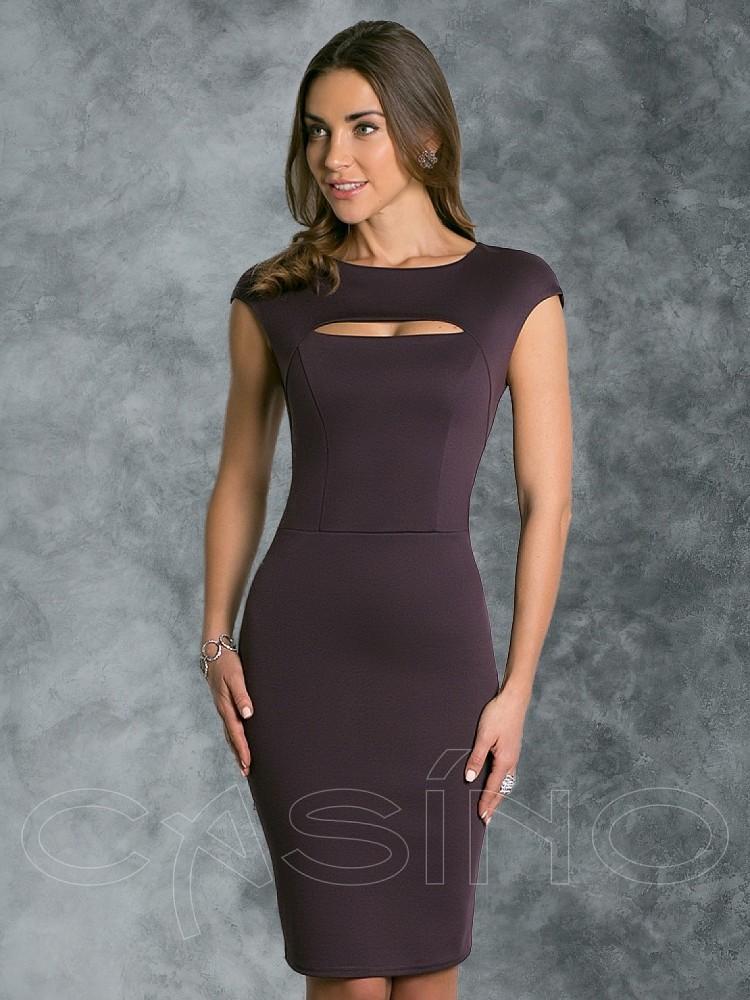 fad38f998b37 Купить платье cs 300 2 коричневое в интернет магазине mirplatev.ru ...
