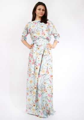 8e31d3a1441 Длинные повседневные платья в пол — Купить платье в интернет ...