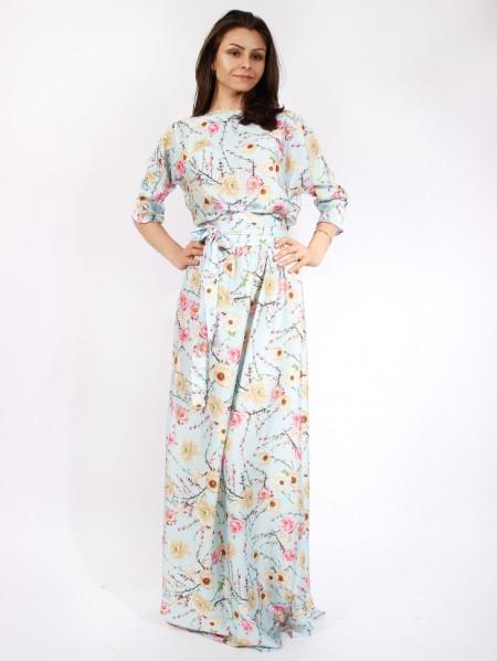 f84b883994592fd Длинные повседневные платья в пол — Интернет магазин Мир платьев