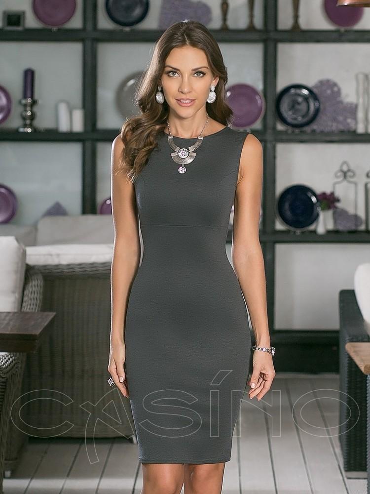 5b5a1a43d02c Купить платье cs 24 2 серое в интернет магазине mirplatev.ru ...