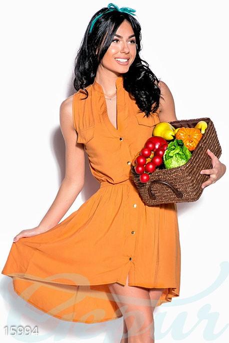 5e3423c8325a Купить летнее асимметричное платье 15994 в интернет магазине ...