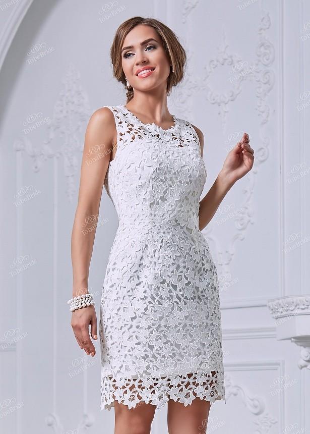 3698f3749b2c41e Купить платье футляр с кружевом без рукавов nn031 в интернет ...