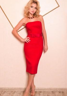 59736bd0d0768d0 Красное вечернее платье — Купить платье в интернет-магазине с ...