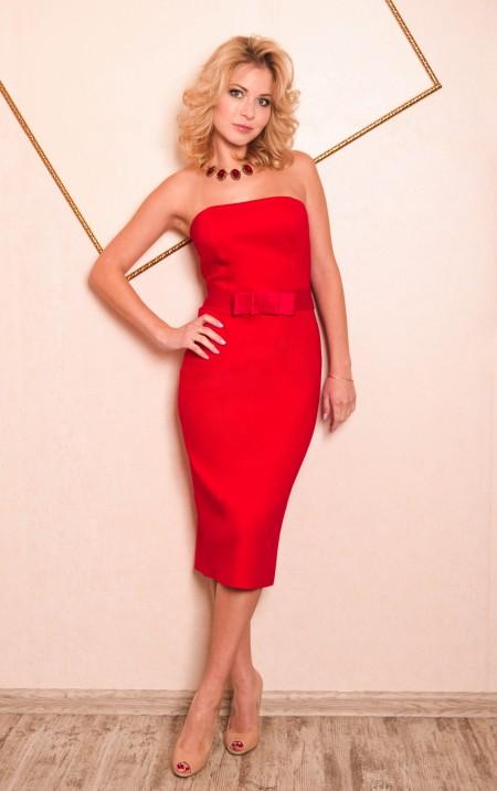 289c10c51bca023 Купить красное платье в Москве. Интернет-магазин ателье платьев ...