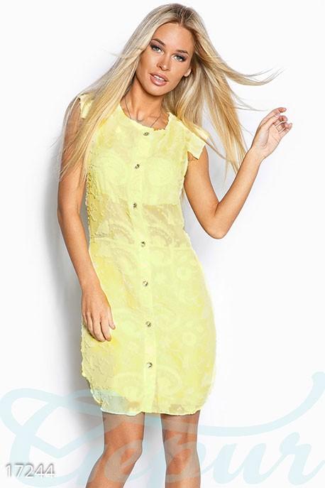 58d225579ce Купить шифоновое платье-рубашка 17244 в интернет магазине mirplatev ...