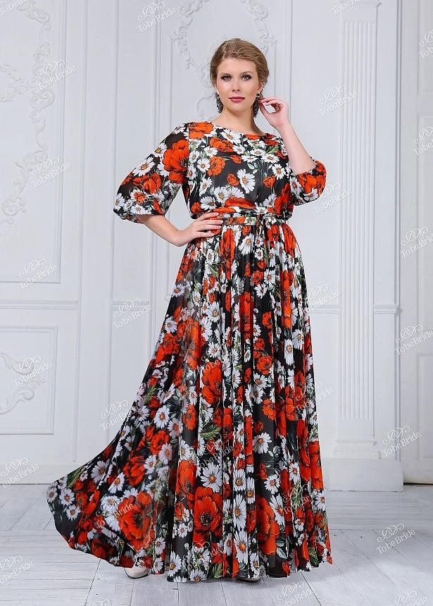 452c7dc0d1df8 Купить длинное платье в пол с рукавами nd101b в интернет магазине ...