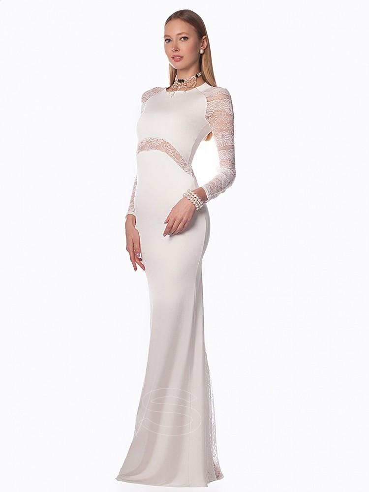 d959c9e0eae Купить платье cs 207 белое в интернет магазине mirplatev.ru недорого ...
