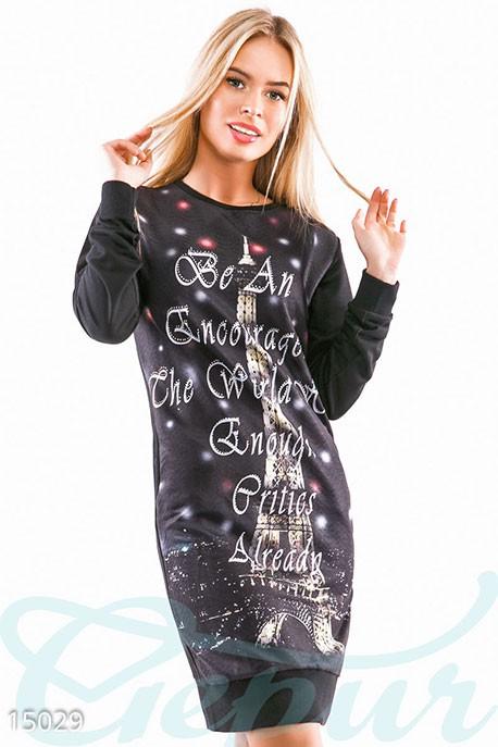 b174846589ed Купить трикотажное платье-туника 15029 в интернет магазине mirplatev ...