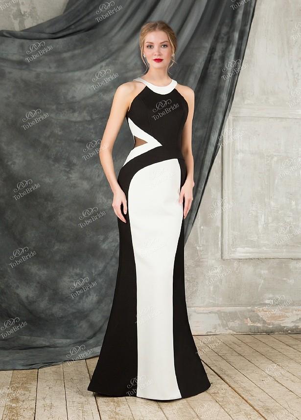 224d89a650c Купить длинное вечернее платье в пол без рукавов se001b в интернет ...