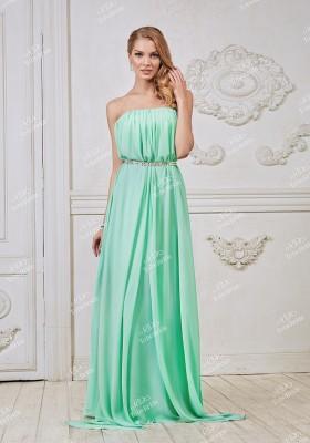 8a87793a2ab Зеленое платье в пол — Купить платье в интернет-магазине с примеркой ...