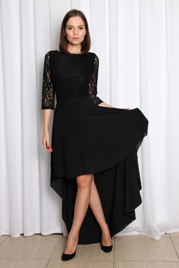 f6990dbe857 Купить ассиметричное кружевное платье асти