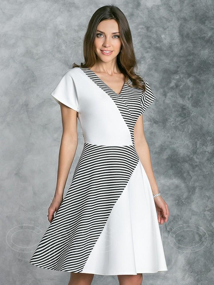 b1fd7dff011d Купить платье cs 223 белое в интернет магазине mirplatev.ru недорого ...