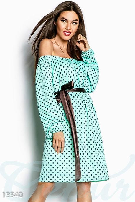 aeb64016e37 Купить ретро платье горошек 19340 в интернет магазине mirplatev.ru ...