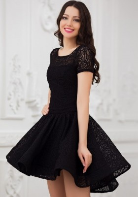 3762ff51dec Красивые короткие черные платья — Купить платье в интернет-магазине ...
