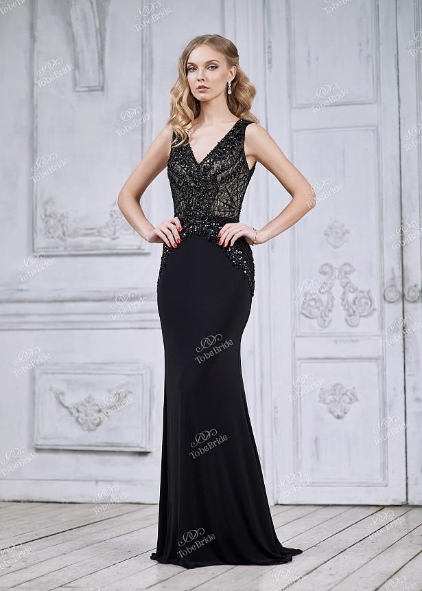 2c00e45d6d4 Купить платье без рукавов со стразами ch005b в интернет магазине ...