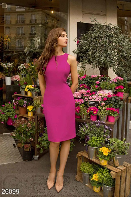 ac68dcf4808 Купить монохромное платье-футляр 26099 в интернет магазине mirplatev ...
