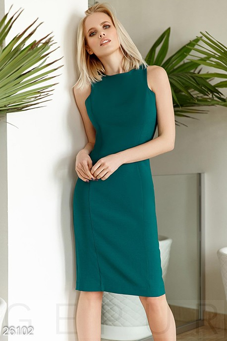 56c9b07b43a Купить монохромное платье-футляр 26102 в интернет магазине mirplatev ...