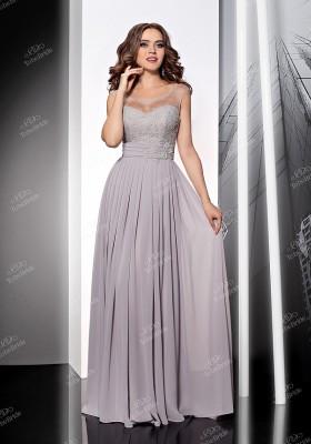 84153bc1daa Купить платье трапеция в пол с кружевом tb028b в интернет магазине ...