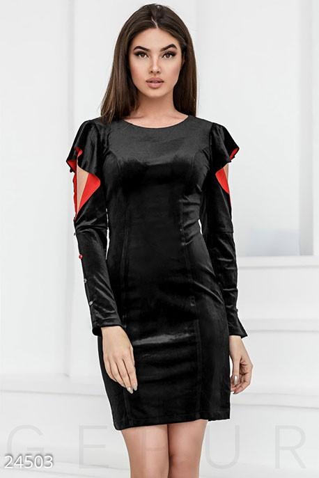 e7884457ec5 Купить двухцветное платье крылышки 24503 в интернет магазине ...