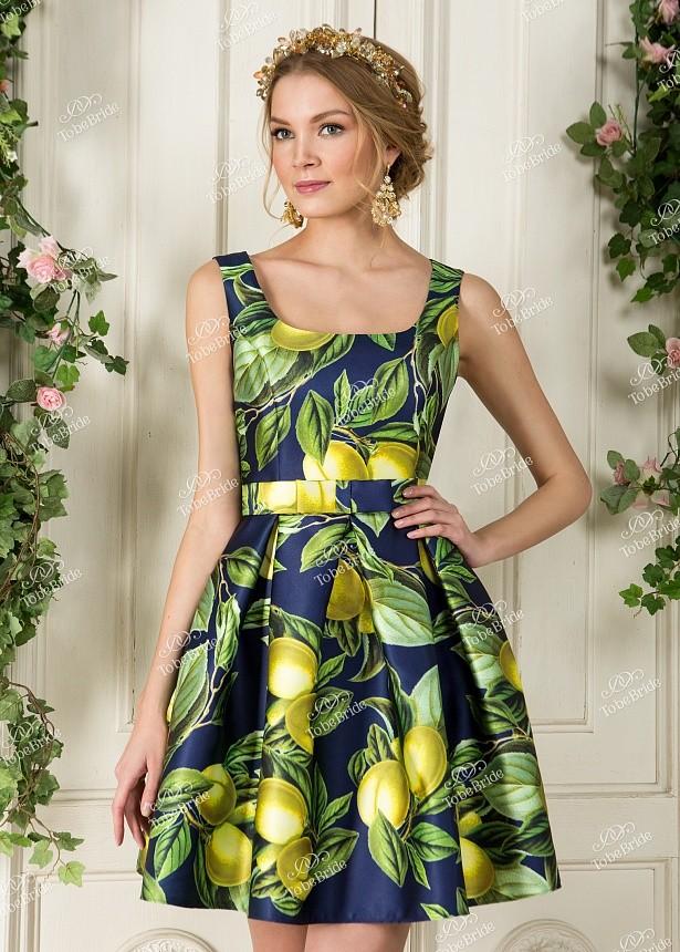 819fd91c61d Купить короткое платье без рукавов с юбкой солнце nd067b в интернет ...