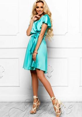 ca889e894baf1ea Платье с юбкой солнце-клеш JDN6 мятное