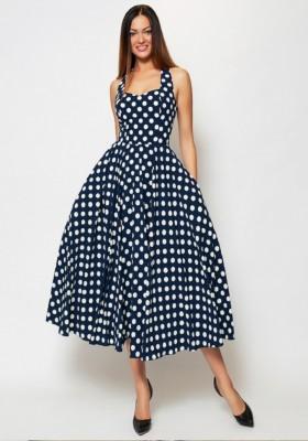 de171c53e76 Купить платье в горох в Москве. Интернет-магазин ателье платьев ...