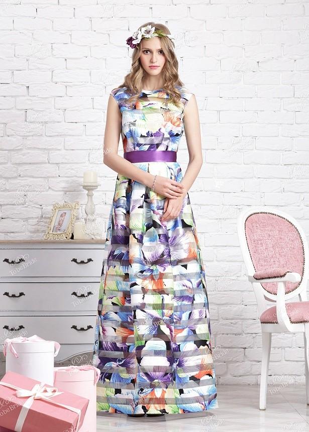 f0e0f91bdbfd Купить длинное платье с поясом nd110b в интернет магазине mirplatev ...
