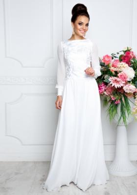 06fe78bbf91b Платья в пол с длинным рукавом — Купить платье в интернет-магазине с ...